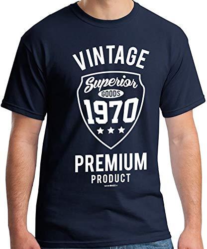 50 Geburtstag Mann Vintage Premium 1970 T-Shirt