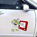 Toy Story - Buzz Lightyear - Cartoon Auto Autoaufkleber Aufkleber - 18 Cm Hoch