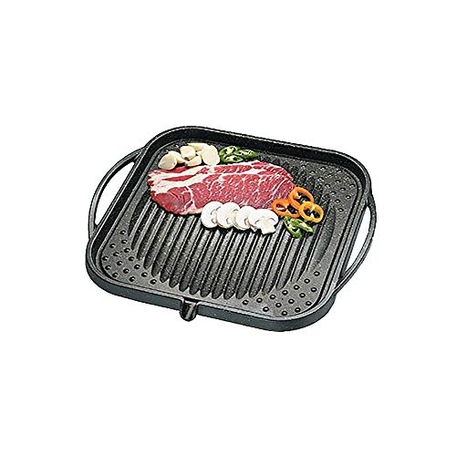 Kitchen Flower Cerastone Gold Marble Coated Non-Stick BBQ Grill Plate 30cm