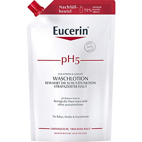 Eucerin pH5 Waschlotion Nachfüllbeutel, 750 ml Gel