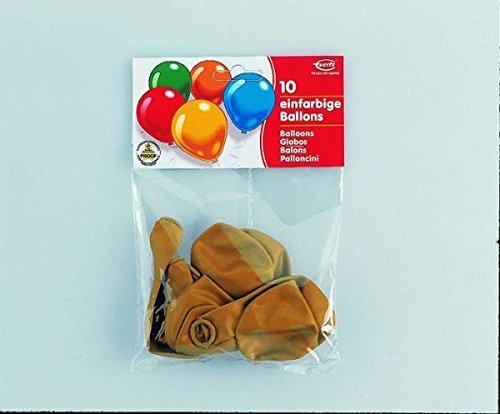 Preisvergleich Produktbild 10 Luftballons gold