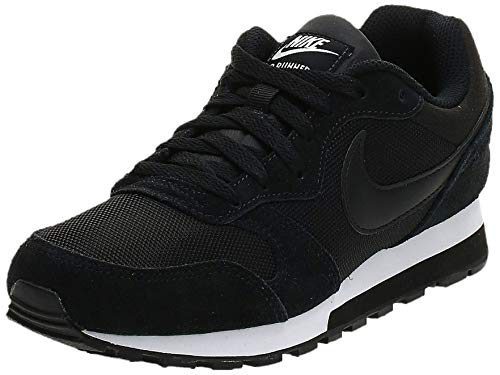 Nike Damen WMNS Md Runner 2 Hallenschuhe, Schwarz (Schwarz/Weiß), 39 EU
