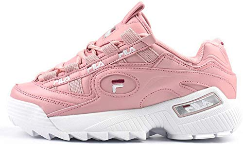 Fila Women's D-Formation Sneakers Pink in Size 39.5