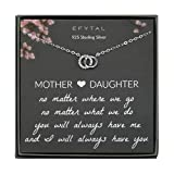 EFYTAL Mom Gifts, 925 Sterling Silver Small...