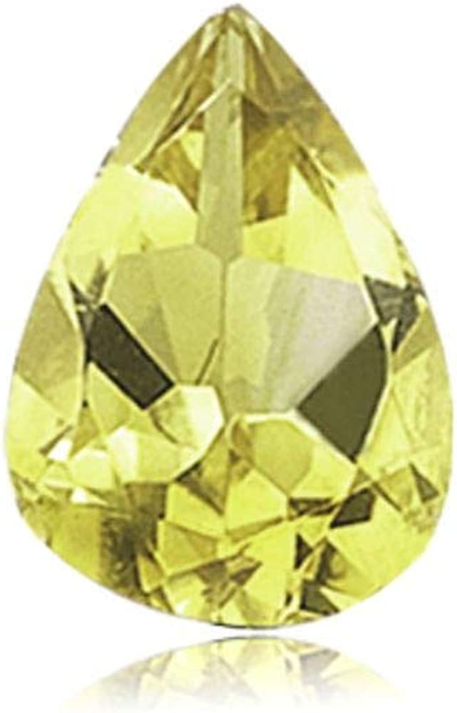 12X8 mm Pear Cut 10 Pcs Morganite Quartz Pear Shape Jewelry Making Loose Gemstones Normal Cut Morganite Quartz Loose Gemstone Cut