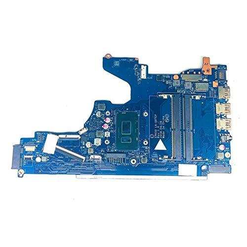Tablero de reemplazo de computadora Placa Base Del Cuaderno Fit For HP 15T-DA 15-DA Placa Base Portátil Con SR3LD I3-7020U EPK50 LA-G07EP Rev: 1.0 Plaage Placa base de computadora de escritorio