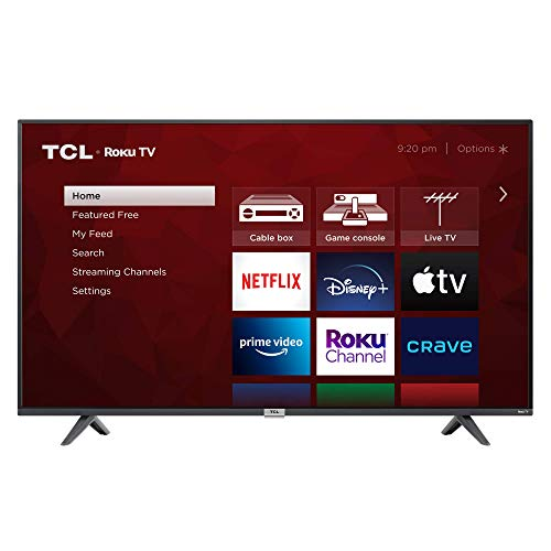 TCL 55' Class 4-Series 4K UHD HDR Smart Roku TV - 55S435-CA