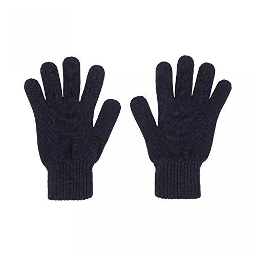 Johnstons of Elgin Damen Handschuhe Gr. Einheitsgröße, marineblau