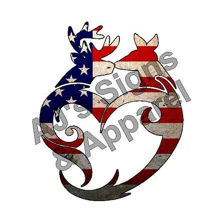 Browning Decal Heart FREE SHIPPING!! Male Female Love