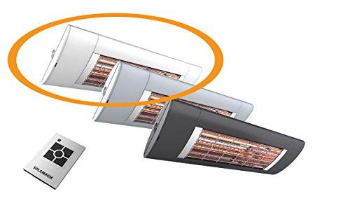 Solamagic Infrarotstrahler S2 ARC, 2500 Watt, mit Funksteuerung und Fernbedienung - weiß