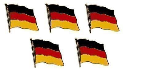 Yantec Pins 5er Pack Deutschland Flaggenpin Flagge