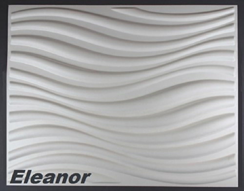 10 m2, Paneele 3D Platten Wandpaneele 3D Wandplatten Wand Decke, 62x80cm Eleanor