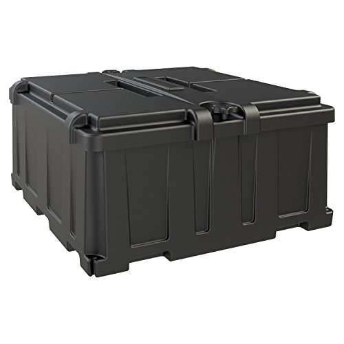 NOCO HM485 Dual 8D Commercial-Grade Battery Box,Black