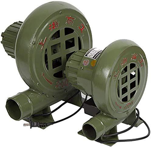 Knoijijuo Kreisel elektrische Luftgebläse, Pumpe Ventilator, Barbecue-Luft-Gebläse, für Barbecue Combustion aufblasbares Schloss aufblasbares Trampolin, Hand schmiede Eisen-Gang,80W