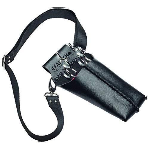 Efalock Colt Pochette à ciseaux Noir/rouge