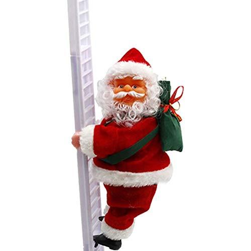Christmas Santa Claus Electric Climb Ladder Hanging Decoration Christmas Ornaments New Year Xmas Decor Kids Gifts Navidad (03)