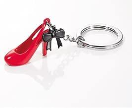 """TROIKA Schlüsselanhänger ,,CAROLINA"""" - KR13-22/RD - roter Highheel mit schwarzer Schleife - Damenschuh - Highheels - Schuhe - Shoppen - das Original von TROIKA"""
