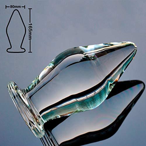 Glass Ðịldo for Women Female Beginners Realistic Double-Ended Sided Ðịldo Personal Medical-Grade Lifelike Huge Big Thick Long Ultra-Smooth Ergonomic Designed VDTU024