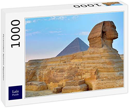 Lais Puzzle Pirámides Esfinge Egipto 1000 Piezas