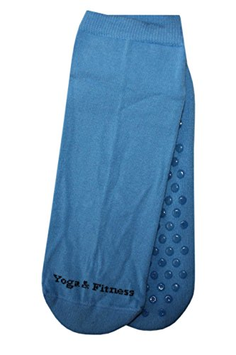 Weri Spezials ABS Yoga Fitness Chaussettes 39-42 Bleu Clair