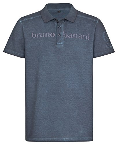 bruno banani Herren Polo Shirt in Marineblau, Größe M