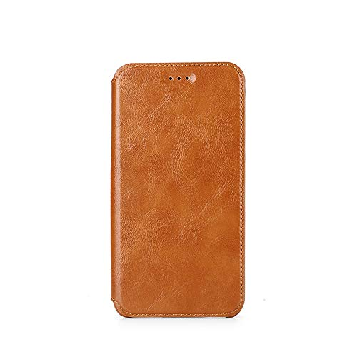 Oujietong KFGBR Custodia per Xiaomi MI6 Cover Custodia Case KFGBR (Brown)