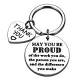 Coworker Appreciation Gift Keychain Thank You Gifts for Colleague Boss PM Manager Employee...