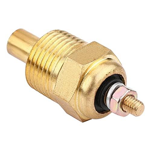 Vernacular Sensor de Temperatura del Agua Dorada Reemplazar el Ajuste for Mercury Mercruiser 806490T Sierra 18-5897 Mallory 9-42400 (Color : Gold)