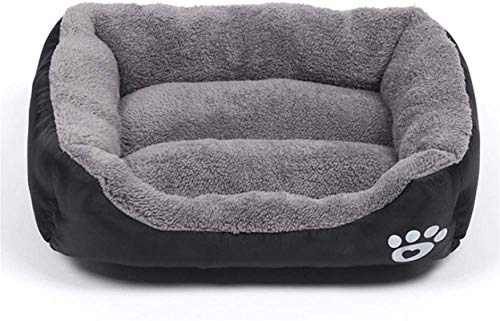 YAOSHUYANG Cama para mascotas, cama para perro, sofá supersuave, cama para mascotas, lavable a máquina con funda lavable, almohada transpirable con tela Oxford impermeable