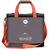 WOWMVP Cooler Bag 72-can Insulated Waterproof Soft Cooler, 50L Portable and Leak-Proof Large Lunch Cooler Bag for Picnic, Beach, Camping, Car Travel, Fishing