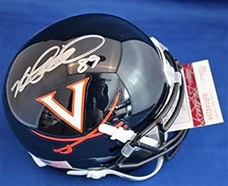 Autographed Signed Heath Miller Virginia Cavaliers Football Mini Helmet With Jsa Coa - Certified Authentic