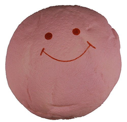 Cute Pink Jumbo Marshmallow Bun Squishy with a Smiling Face by TGA Products