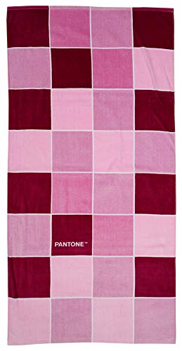 FACTORYCR- Toalla Pantone Squares 75x150 cms 360 grm,, 75x150x1 (PA62052)