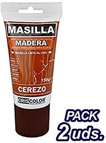 CRISCOLOR Brico Masilla cerezo 150gr. Pack 2 unidades