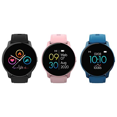 CAIXIAN W9 pulsera inteligente mujeres reloj deportes modo sueño monitor ritmo cardíaco pantalla táctil completa impermeable
