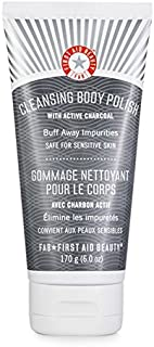 First Aid Beauty Cleansing Body Polish with Active Charcoal, 6 oz