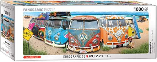 EuroGraphics EG60105442 KimbiNation Panoramic Puzzle, verschieden, 1000
