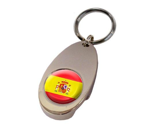 Asbri España Crested Golf Tech Llavero