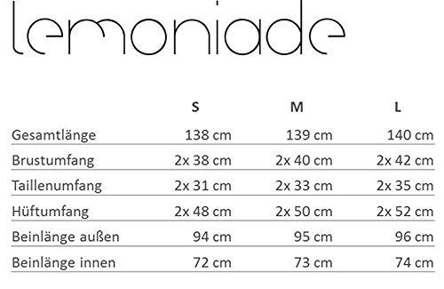 Lemoniade stylischer Jumpsuit, schwarz - 2