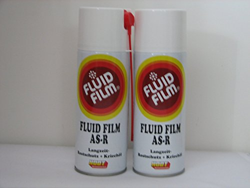 2 x Fluid Film AS-R Langzeit-Rostschutz Kriechöl 400ml Sprühdosen