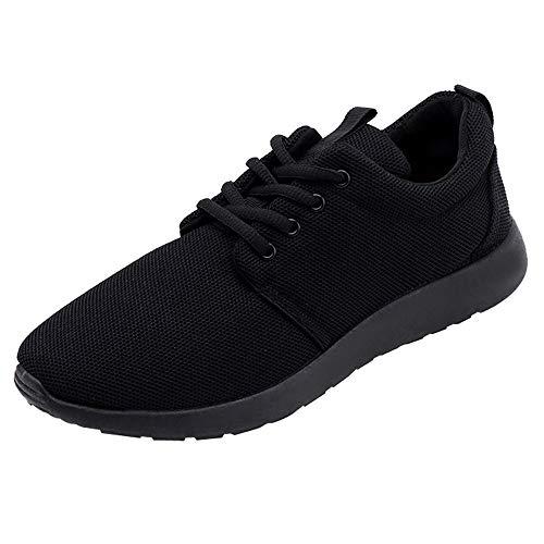 GongzhuMM Sneakers Hommes Baskets Trainers Chaussures de Sport Mocassins Souple Chaussures de Course pour Étudiant Noir/Gris/Blanc 39-44 EU