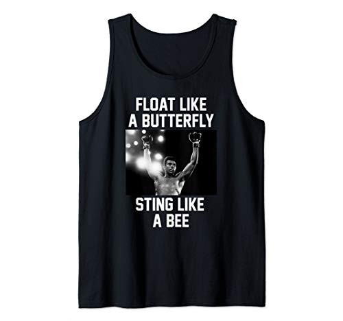 Muhammad Ali Float Like A Butterfly Tank Top