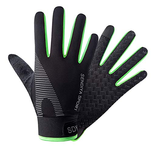 Cycling Breathable Non Slip Touch Screen Gloves Outdoor Mountaineering Climbing Fitness Sun Proof Ultra thin Fabric Bike Gloves-A14-L