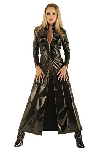Maat xl - kostuum - jas - - vermomming - carnaval - halloween - vrouw trinity matrix cosplay