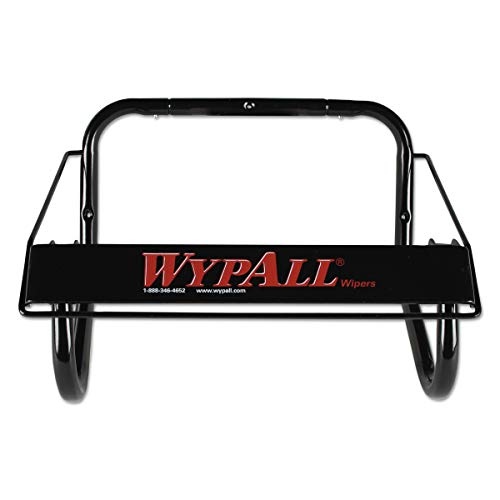 WypAll 80579 Jumbo Roll Dispenser, 16 4/5w x 8 4/5d x 10 4/5h, Black