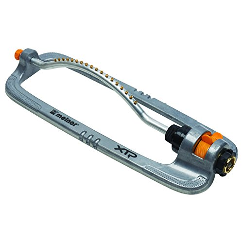 Melnor XT Metal Turbo Oscillating Sprinkler; Waters up to 4000 sq. ft., Model:XT360M