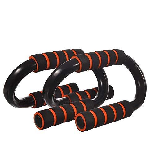 Liegestütze Push-Ups mit Schaumstoffgriff S-förmiges Push-Up-Ständerwerkzeug for Fitnessübungen im Brustbereich Verbessern Sie die Brust, Schultern, Trizeps und K