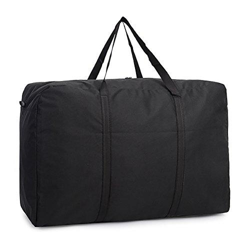 Handige tas extra grote opslag super grote capaciteit dikker Moving Bag slijtage canvas bagage tas Reistas, water-proof Splash-Proof tas sterk bewegende pakket, dekens dekbed borst, seizoen wasprogramma grootte 85*52*34CM