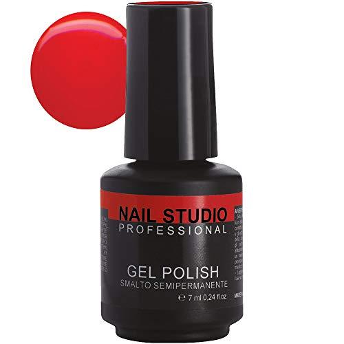 Nail Studio - Vernis à ongles professionnel Gel Polish semi-permanent Mains et pieds - Durée 4 semaines - 39 couleurs 26 Moulin Rouge