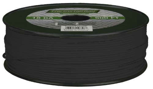 Metra PWBK18500 18GA 500-Feet Primary Wire, Black